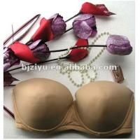 Buy cheap Brown Padded Definition Hand Wash Plus Size Convertible Bra For Ladies With G H I J, K Cup product