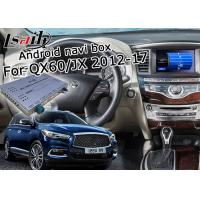Quality 1.2GHz Quad Android Car Navigation Box Yandex Navi For Infiniti QX60 / JX 2012 - 2016 for sale