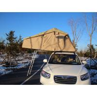 Quality Extension Folding 4x4 Roof Top Tent With Stainless Steel Pole Material for sale