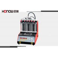 Quality Manual Mode Gasoline Fuel Injector Tester And Cleaner Ultrasonic Cleaning for sale