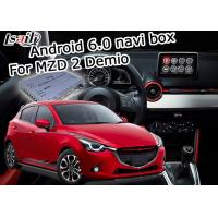 Quality car navigation box Android 6.0 for Mazda 2 video interface box with Mazda knob control waze youtube for sale