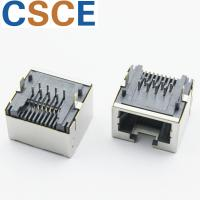 Quality Networking Switch 90 Degree RJ45 Connector SC988 Series Without Transformer 15mm for sale
