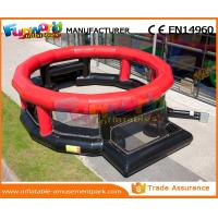 Buy cheap Infaltable Football Playground 0.55 MM PVC Tarpaulin Blow Up Football Pitch product
