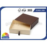 China Various Size Custom Shape Drawer Cardboard Box For Belt Sunglasses Packaging on sale