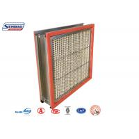 Quality 250 Degree High Temp Resistant Industrial Air Purify Hepa Air Filters for sale