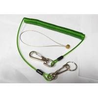 China Stainless Steel Wire Rope Protection for Tools Transprent Green Color on sale