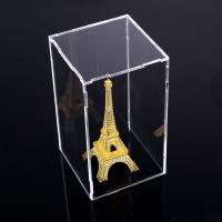 Buy Square Counter Acrylic Display , Case Plastic Stand Clear Storage Box Jars With at wholesale prices