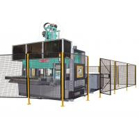 Quality Powder Coated Wire Mesh Machine Guarding With 1 ½ X 1 ½ Inch Wire Mesh Grid for sale