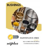 Quality Replacement Self Lubricating Bronze Bushings Stock Size Tolerances & Installation for sale