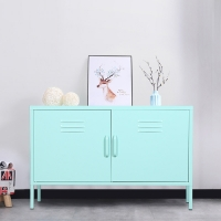 Quality Living Room Colorful Office Filing Cabinet Steel TV Stand Cabinet for sale