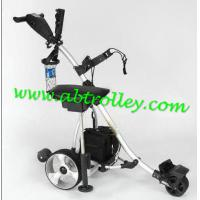 Buy cheap NEW Electric Power Golf Trolley Folding Motor Golf Caddy With New Handle 36 Holes Battery product