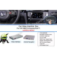 Buy Android Navigation Video Interface Upgrade Internet , Online Map Music Movie , 3G WCDMA at wholesale prices