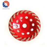 Buy 5inch concrete edge diamond cup sdc grinding wheel for grinding polishing smoothing concrete at wholesale prices