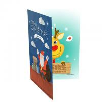 Quality AG3/AG10 Battery Musical Happy Birthday Card Sound Personalized For Party Invitations for sale