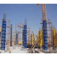 Quality column steel Scaffolding Frames formwork replace the timbers to support the plywood for sale