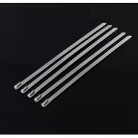 Buy cheap 10 Mm Releasable Stainless Steel Cable Ties For Recycling Use , High Temp from wholesalers
