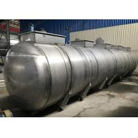 Buy cheap Super Large Fixed Horizontal Storage Tank For Hydrochloric Acid HCL, Nitrogen from wholesalers