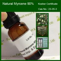 Buy cheap 123-35-3 Natural Myrcene 90% min, Kosher Certificate from wholesalers