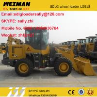 Quality SDLG  small front loaders  LG918 with quick coupler GP bucket, mini loader, small agricultural tractor for sale for sale