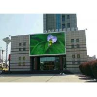 Quality P10 Full Color Outdoor Advertising Led Display , Led Video Wall Panels Waterproof IP65 for sale