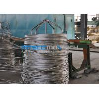 20BWG 0.89mm Wall Thickness Stainless Steel Coiled Tubing ASTM A213 Standard