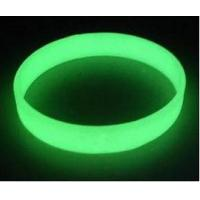 China glowing in the dark silicone bracelet ,glow in the dark wristbands ,luminous  wristband on sale