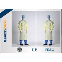 Quality Waterproof SBPP+PE Disposable Protective Gowns ,SMS Surgical Gowns Standard Sterile for sale