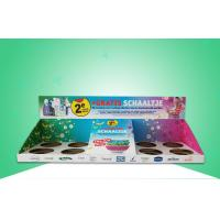 Buy cheap Professional Cardboard Pdq Display Box / Pdq Counter Display For Selling Bowels from wholesalers