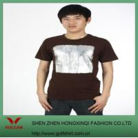 Quality Black T Shirt Made Of 100% Cotton for sale