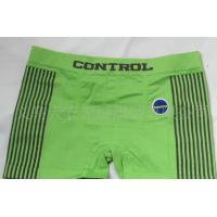 Buy cheap Green Sports Cotton Breathable Personalised Underwear for Men product