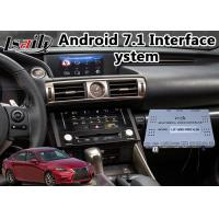 Buy Android 7.1 Car Navigator for 2013-2016 Lexus Is 350 Mouse Control with WiFi at wholesale prices
