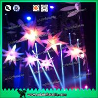 Quality Illuminating Stage Decoration Inflatable Star/Club Stage Hanging Inflatable Star for sale
