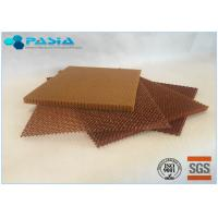 Quality Jacquard Treatment Aramid Honeycomb Panels With Epoxy Resin Fungi Resistance for sale
