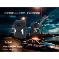 Quality RECODA M505 GPS Tracking Police Waterproof Body Worn Camera Night  Vision for sale