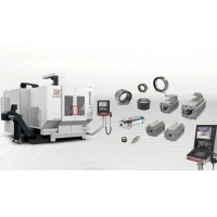 China Double Arm 5 Axis Direct Drive CNC VMC Machine on sale