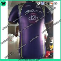 Quality Advertising Inflatable Cloth Replica T-Shirt Model/Sports Promotion Inflatable for sale