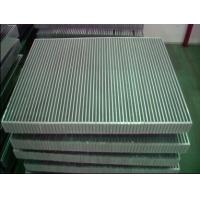 Quality Aluminum Vaccum Brazed Compact Heat Exchanger  Cooler In Machinery Cooling for sale