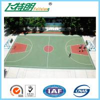 Quality Athletic Standard Playing Surface Court Basketball Gym Flooring Slip Resistance for sale