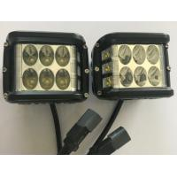 "Quality 45W 4.5"" Square Automotive Led Driving Lights , 6500k Offroad Truck Work Lights 3800 Lumen for sale"