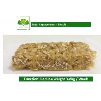 Buy cheap 100% Natural Food Weight Loss Protein Bars Biscuit Cookie For Satiety product