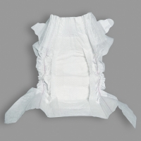 Quality Soft Elastic Waist Band Adsorbing Quickly Disposable Baby Diaper for sale