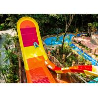 Quality 13m Platform Height Big Water Slides Strong Reception Capacity Oxidation Resistance for sale