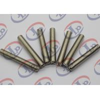 OEM Custom Machined Parts 303 Stainless Steel Slotted Full Thread Parts