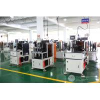 Buy Automatic Single Phase Motor Stator Lacing Machine CNC Controller White Color at wholesale prices