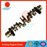 Quality Engineering Machinery Crankshaft exporter Isuzu 6HH1 crankshaft 8943931884 for sale