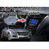 Quality Mirror link car Android 6.0 navigation box for Cadillac CTS video interface box for sale