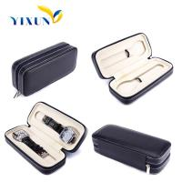 Buy cheap Desktop PU Leather Jewelry Personalized Travel Watch Case from wholesalers
