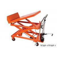 Quality Corrosion Resistant Hydraulic Tilt Table Double Scissor Easy Handling for sale