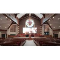 Quality 10x12ft  Church LED Screen Panels Movable LED Screen for Churches Customize Color for sale