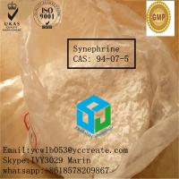 Quality Pharmaceutical Grade Synephrine For Improving Blood Pressure 94-07-5 for sale